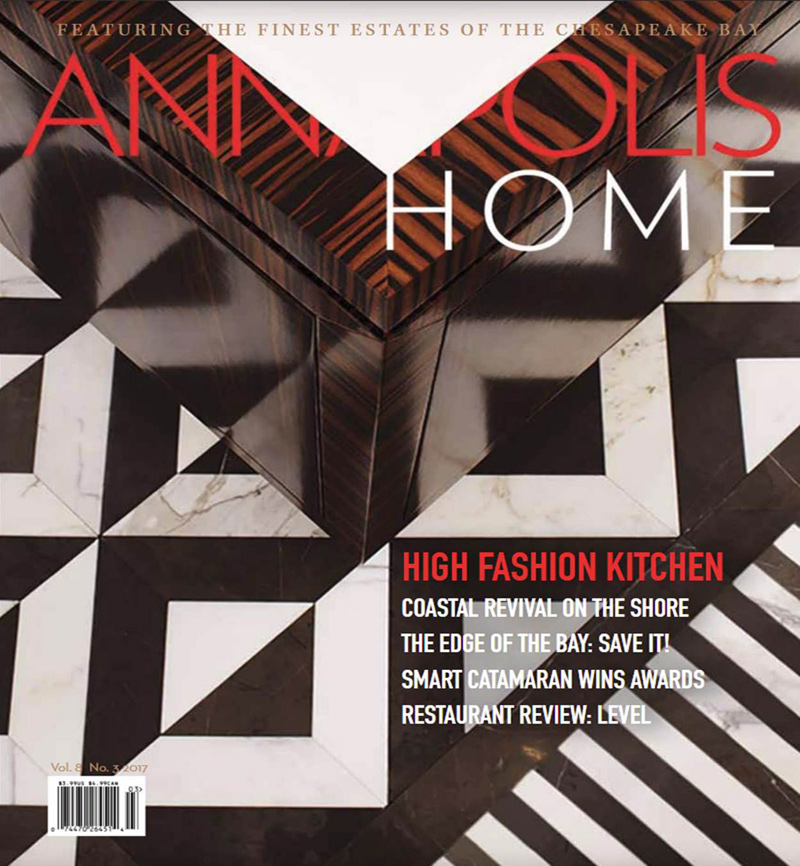Annapolis Home Magazine cover