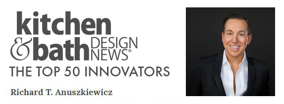 Richard Anuszkiewicz Top 50 Innovators award