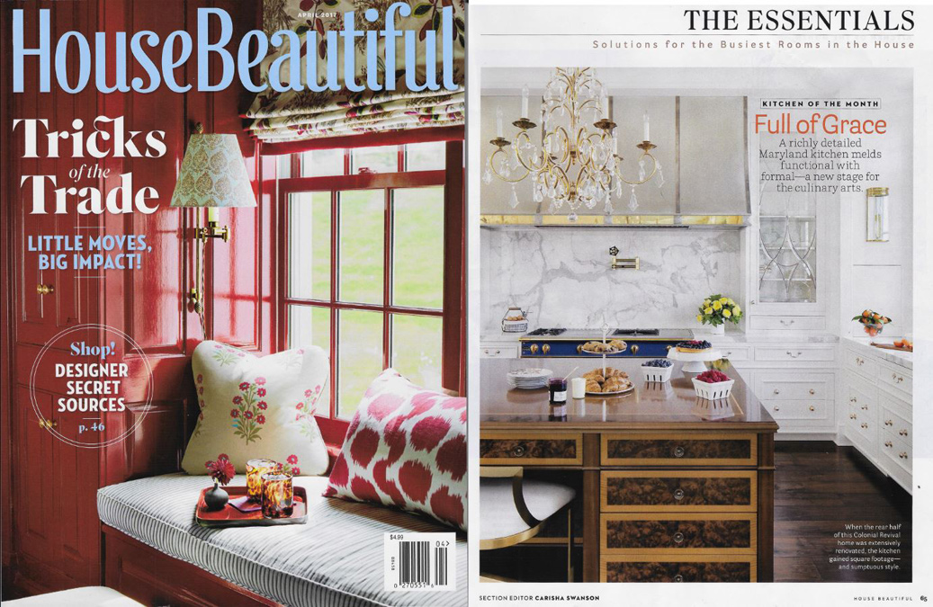 House Beautiful Kitchen of the Month cover